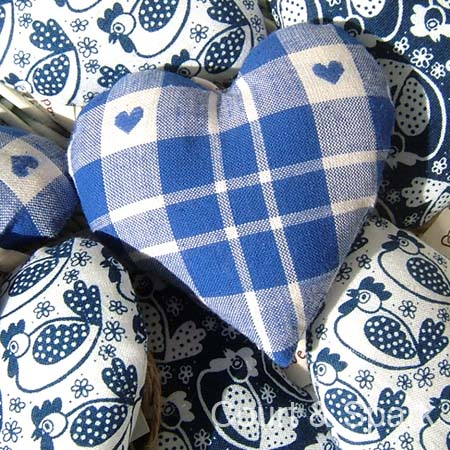 Fabric Hearts Gallery